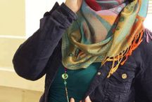 Hijab Fashion / You can be stylish even when you're wearing hijab without losen up the meaning of syar'i itself