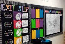 Exit Slip Ideas
