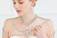 Bridal Shoulder and Back Jewelry Pieces