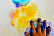 Sensory and creative ideas