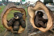 Amazing wood sculptures of various wildlife