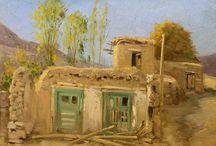 Hassan naderaliacrylic painting