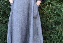 Make your own linen dress