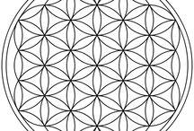 Die Blume des Lebens / Stilvoll gestaltete Produkte und Motive der Blume des Lebens