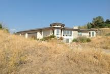 Boise Residence using Reclaimed Concrete
