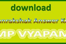 MP Forest Guard Exam Answer sheet / MP forest guard answer sheet download online because vyapam had released the notification to released the answer key of Vanrakshak exam 2015