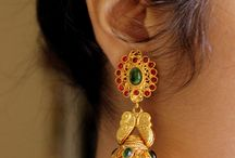 South Indian Bridal Jhumka Earrings / Awesome Board for South Indian Bridal Jhumka Earrings