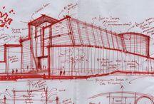 Gráfica arquitectónica análoga