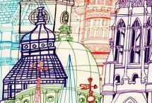 ilustrace věže