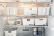 冷蔵庫  収納