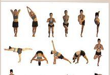 Yoga,Pilates ,exercise etc