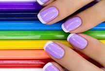 End of Summer & Back To School Manicure - Manciure Na Koniec Lata 2017 / Zaszalej z manicure na koniec lata - delikatne, kolorowe inspiracje w trendach 2017 roku
