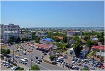 Din tinutul Vrancei: orasul Focsani vazut de sus