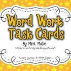 Word Work / by Tiffanie Velarde