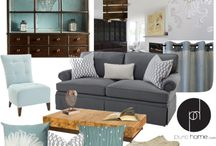 mood board for rooms / decorading