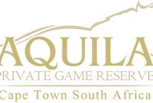 Aquila Private Game Reserve / The 4 Star reserve is home to the Big 5 just under 2 hours from Cape Town. with overnight and day trip safaris, Aquila offers the visitor and local alike the chance to see Africa's magnificent creatures up close. Real Africa..... Real close to Cape Town.