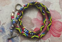 stylish beaded bracelets / my works