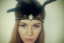 Great Gatsby 1920 Art Deco Headbands / by Miss S-a Headbands