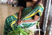 Bharati Muthu 's #100SareePact #Saree / In celebration of Saree - a traditional drape of Elegance that fuels the #100SareePact . My saree, My story , My traditions :)  http://100sareepact.com/