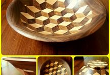 segmented  wood