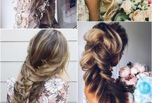 Hairstyle / Having long hair is the most annoying and wonderful thing at the same time. Inspiration and ideas for simple hairstyles such as ponytails, braids, wavy hairstyles and wedding hairstyle.
