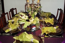 table settings - entertaining