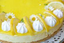 Dolci e creme al limone e arancia / Eu