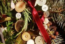 Vánoční trhy v Hlušovicích 2016 / vanocni dekorace z moji dilnicky