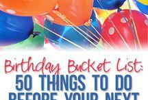 Birthday Buckets