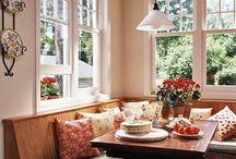 kitchen dining nook / by Annie Florin