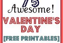 Valentine's Day / Recipes & crafts for Valentine's Day!