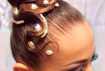Dance Hair style Standard