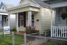 The Milford & Almondia  Cottage / Historic Madison Indiana Cottage remodel
