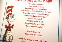 Dr. SEUSS / Decoracion de fiesta, invitaciones, centro de mesa, detalles y mas ....