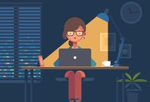 Referências - Ilustrações - Módulos Claro / Referências para ilustrações usadas em módulos de treinamento da Claro.
