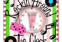 Rocking Around the Clock / This has been a fun category on my Zazzle Store for years, so I just thought I'd put some of it here. Enjoy! Promote (with great appreciation from me now more than ever )! Visit often! Thanks: http://www.zazzle.com/sharonrhea?rf=238102717089006821