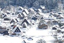 Villages of Shirakawa-go, Gifu, Japan