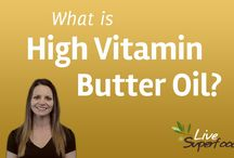 "What is High Vitamin Butter Oil? / This beautiful golden oil is rich in nutrients including a powerful catalyst called ""Activator X"" discovered more than fifty years ago by Weston A. Price. Dr. Price considered high-vitamin butter oil to have extraordinary healing properties, especially when taken with cod liver oil. / by Live Superfoods"