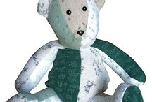 Memory bears & pillows - ideas