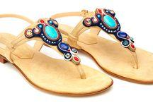Flat Jeweled sandal