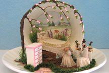 miniature in tazza
