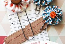 ~♥~Fabric Book Marks~♥~