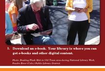 60 Ways to Use Your Library Card / Check out these great ways to use your library card and library.  September is Library Card Sign-up Month!  Visit your local library with your children and teens today and sign up for a library card!  This year, Luol Deng of the Chicago Bulls joins us as Honorary Chair. Deng is a two-time All-Star  and noted for his humanitarian work in Africa. / by ilovelibraries.org