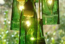 Weinflaschenlampe