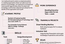 Creative CV / Creative Resume/Cv