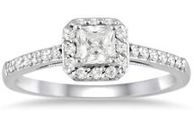 Halo Engagement Rings / Stunning diamond halo engagement rings!