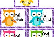 Classroom - Owls