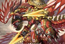 Dragons arts
