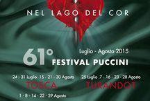 Manifesti 61° Festival Puccini / Raccolta di manifesti del 61° Festival Puccini di Torre del Lago