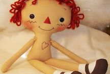 Handmade Doll / When I see all handmade doll, I wish I have a doll shop